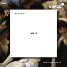 Lisa Streich (geb. 1985): Pieta für motorisiertes Cello & Ensemble, CD