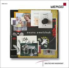 Oxana Omelchuk (geb. 1975): Kammermusik, 1 CD und 1 DVD