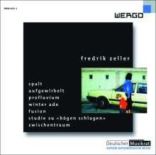Fredrik Zeller (geb. 1965): Spalt für Orchester, CD