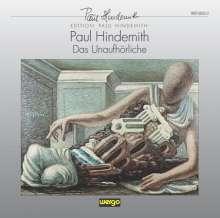 Paul Hindemith (1895-1963): Das Unaufhörliche (Oratorium), 2 CDs