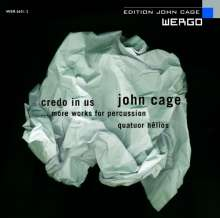 John Cage (1912-1992): Music for Percussion Quartet, CD
