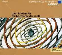 Paul Hindemith (1895-1963): Die Harmonie der Welt, 3 CDs