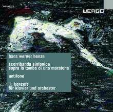 Hans Werner Henze (1926-2012): Klavierkonzert Nr.1, CD