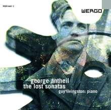 """George Antheil (1900-1959): Klaviersonaten - """"The Lost Sonatas"""", CD"""