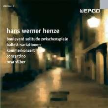 """Hans Werner Henze (1926-2012): Symphonisches Zwischenspiel aus """"Boulevard Solitude"""", CD"""
