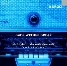 Hans Werner Henze (1926-2012): Ein Landarzt (Rundfunkoper), CD
