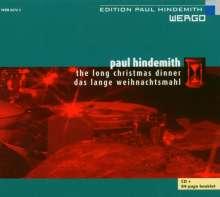 Paul Hindemith (1895-1963): Das lange Weihnachtsmahl (Oper in 1 Akt), CD