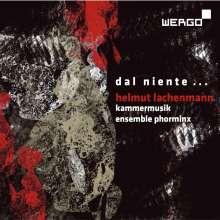 Helmut Lachenmann (geb. 1935): Allegro Sostenuto für Klarinette/Baßklarinette,Cello,Klavier, CD