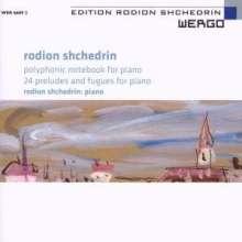 Rodion Schtschedrin (geb. 1932): 24 Präludien & Fugen, 2 CDs