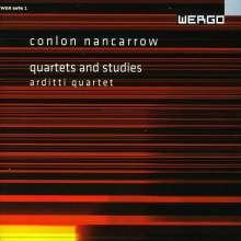 Conlon Nancarrow (1912-1997): Quartets & Studies, CD