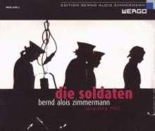 Bernd Alois Zimmermann (1918-1970): Die Soldaten, 2 CDs
