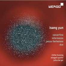 Isang Yun (1917-1995): Kammermusik mit Akkordeon, CD