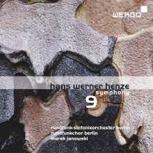 Hans Werner Henze (1926-2012): Symphonie Nr.9 für Chor & Orchester, CD