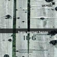 Hans Werner Henze (1926-2012): Symphonien Nr.1 & 6, CD