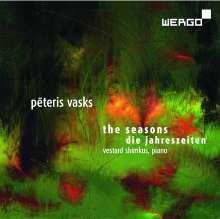 Peteris Vasks (geb. 1946): Die Jahreszeiten für Klavier, CD