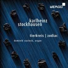 Karlheinz Stockhausen (1928-2007): Tierkreis für Orgel, CD