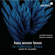 """Hans Werner Henze (1926-2012): Kammermusik 1958 über die Hymne """"in lieblicher bläue"""", CD"""