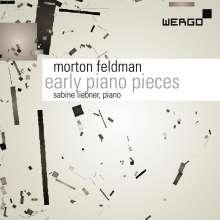 Morton Feldman (1926-1987): Early Piano Pieces, 2 CDs