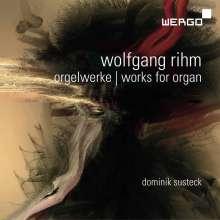 Wolfgang Rihm (geb. 1952): Orgelwerke, CD