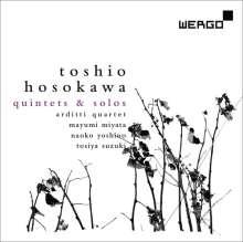 Toshio Hosokawa (geb. 1955): Kammermusik - Quintets & Solo, CD