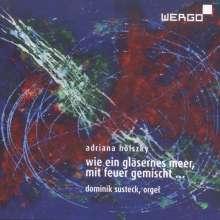 Adriana Hölszky (geb. 1953): Und ich sah wie ein gläsernes Meer, mit Feuer gemischt für Orgel, CD