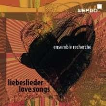 Ensemble Recherche - Liebeslieder, 2 CDs