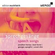 Edition musikFabrik 01 - Sprechgesänge, CD