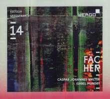 Edition musikFabrik 14 - Fächer, CD