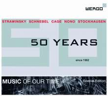Wergo - 50 Years, 5 CDs