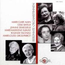 Berühmte französische Organistinnen, CD