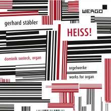 Gerhard Stäbler (geb. 1949): Orgelwerke, CD