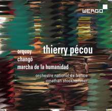 Thierry Pecou (geb. 1965): Orquoy für großes Orchester, CD