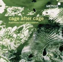John Cage (1912-1992): Cage after Cage - Works for Solo Percussion, CD