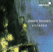 Dimitri Terzakis (geb. 1938): Visionen für Chor, Erzähler, Viola, CD