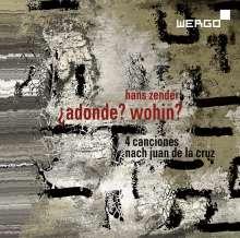 Hans Zender (geb. 1936): Adonde? Wohin? für Sopran, Violine & Instrumente, CD