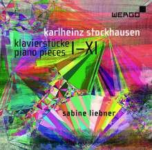 Karlheinz Stockhausen (1928-2007): Klavierstücke Nr.1-11, 2 CDs