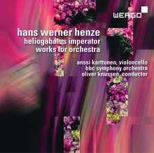Hans Werner Henze (1926-2012): Heliogabalus Imperator (Allegoria per Musica), CD