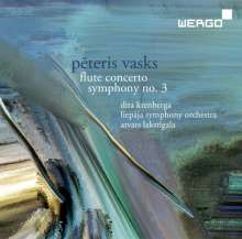 Peteris Vasks (geb. 1946): Symphonie Nr.3, CD