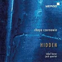 Chaya Czernowin (geb. 1957): Hidden für Streichquartett & Elektronik, CD