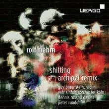 Rolf Riehm (geb. 1937): Archipel Remix, CD