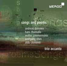 Trio Accanto - Songs and Poems, CD
