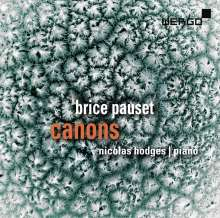 Brice Pauset (geb. 1965): Canons für Klavier, 2 CDs