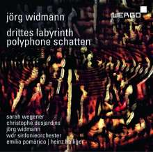 Jörg Widmann (geb. 1973): Drittes Labyrinth für Sopran & Orchestergruppen, CD
