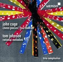 John Cage (1912-1992): Chess Pieces für Klarinette, Klavier, Percussion, CD