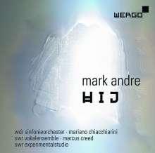 Mark Andre (geb. 1964): hij 1 für Orchester, CD