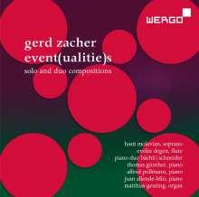 Gerd Zacher (geb. 1929): Event(ualitie)s - Solo- und Duostücke, 2 CDs