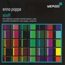 Enno Poppe (geb. 1969): Stoff für 9 Instrumentalisten, CD