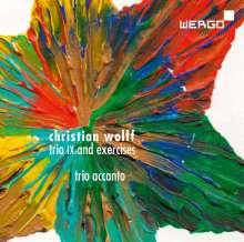 "Christian Wolff (geb. 1934): Trio IX ""accanto"" für Saxophon,Klavier,Percussion, CD"