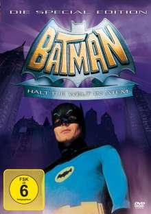 Batman hält die Welt in Atem, DVD
