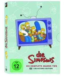 Die Simpsons Season 2, 4 DVDs